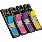 Dispenser van 140 index herplaatsbare KLEIN FORMAAT POST-IT formaat 12 mm - classic kleuren