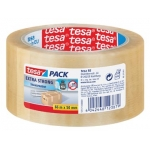 Plakband VERPAKKING EXTRA STRONG TESA - PVC transparant - 50 mm x 66 m