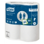 Pak van 48 rollen toiletpapier TORK ADVANCED