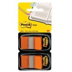 Duopack INDEX POST-IT 25 mm 2 x 50 - oranje