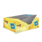 Pack POST-IT CLASSIC CLEVER 16 blokken + 4 gratis formaat 76 x 127 mm - geel